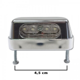 Osvit SPZ LED 55x19 mm, chrom