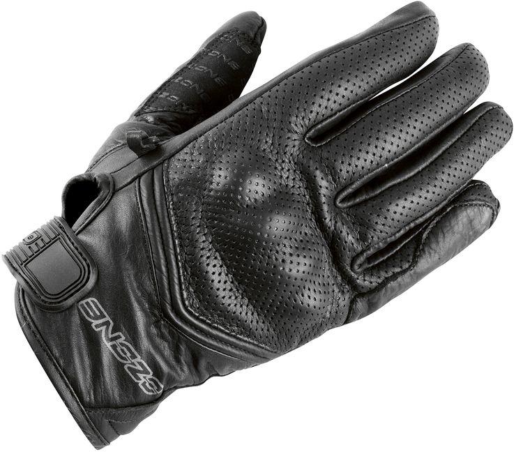 7836c98a661 Klasické kožené rukavice na motorku Ozone Stick