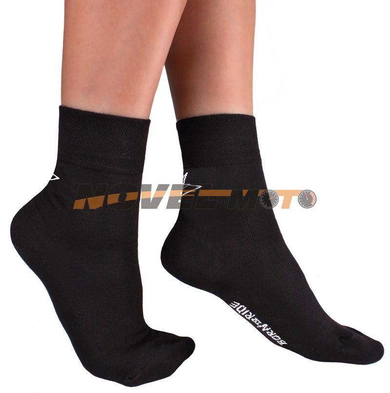 Motorkářské bambusové ponožky