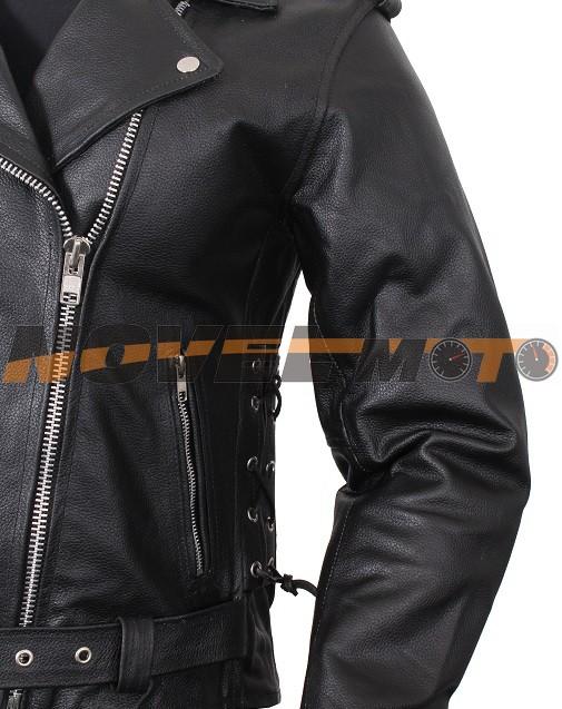 5c5e417b4cec Kompletní specifikace. Dámská kožená bunda na motorku ...