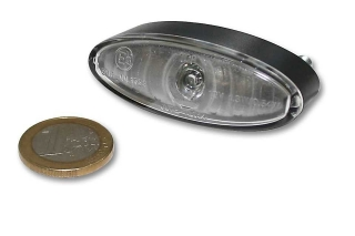 "Světlo ""Mini Oval"" 54x20 mm power-LED čiré moto"