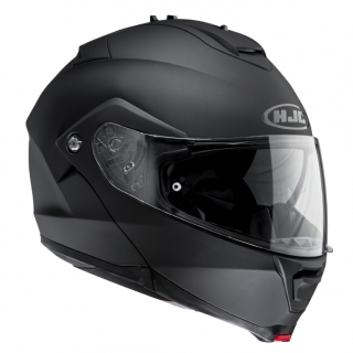 HJC IS-MAX II Matt Black, výklopná moto-helma