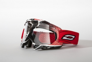 Motokrosové brýle Ozone MUD RED/White/Black
