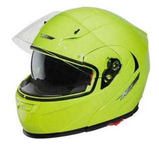Výklopná helma na motorku NOX N964 žlutá fluorescentní empty ecae66999a