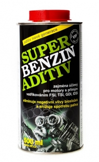 Aditivum do benzinu VIF Super Benzin Aditiv 500 ml