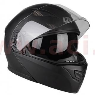 Výklopná helma na motorku LZR (LAZER) MH2 černá-matná empty deb9e17eb7
