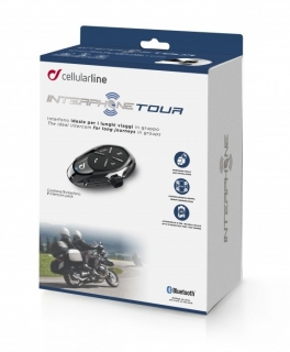 Interphone Tour Single Pack, Bluetooth interkom na moto