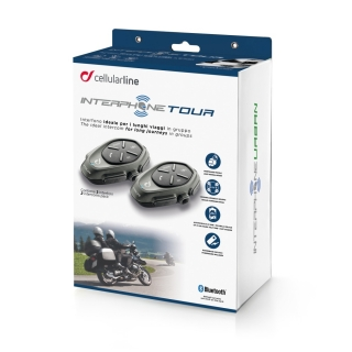 Interphone Tour Twin Pack, Bluetooth interkom na moto